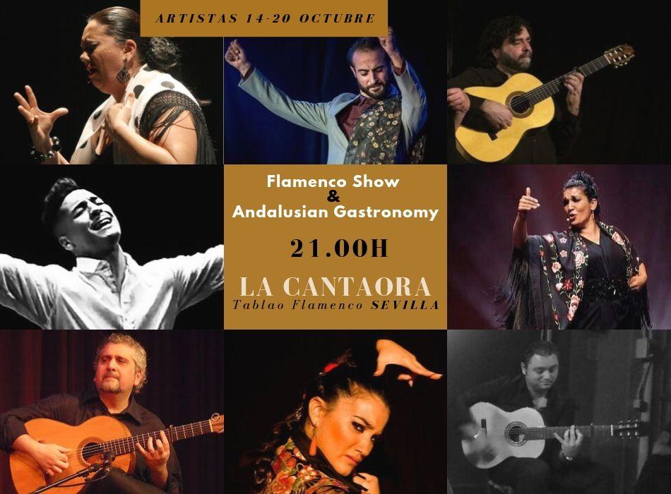 Programmation octubre artists of flamenco seville