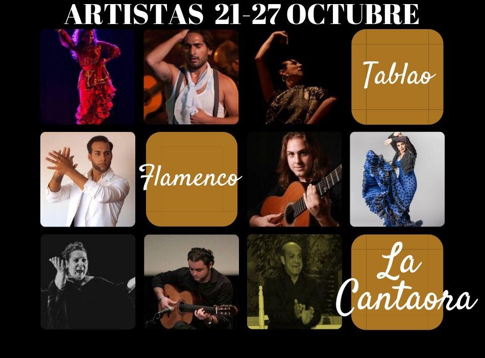 Live Flamenco Show in the city center