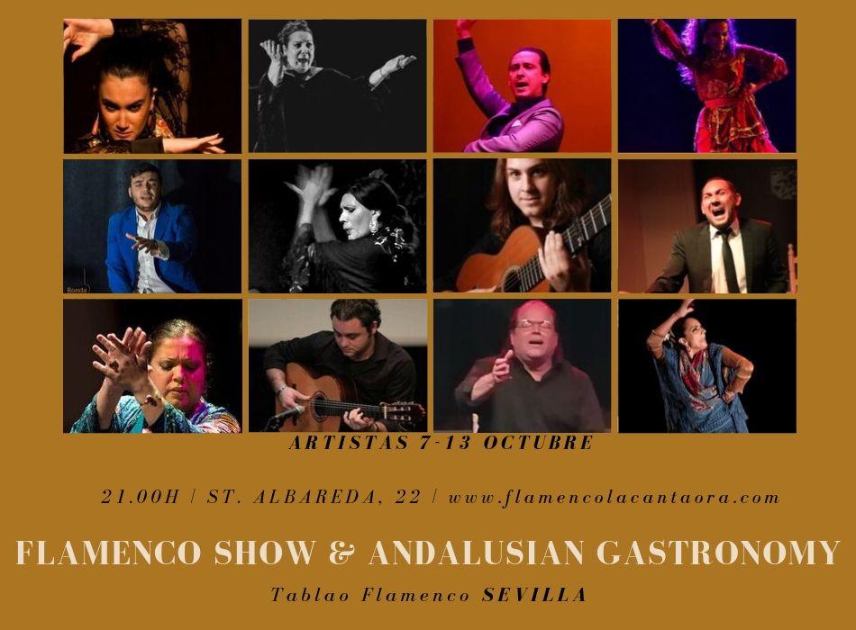 Tablao flamenco programación sevilla