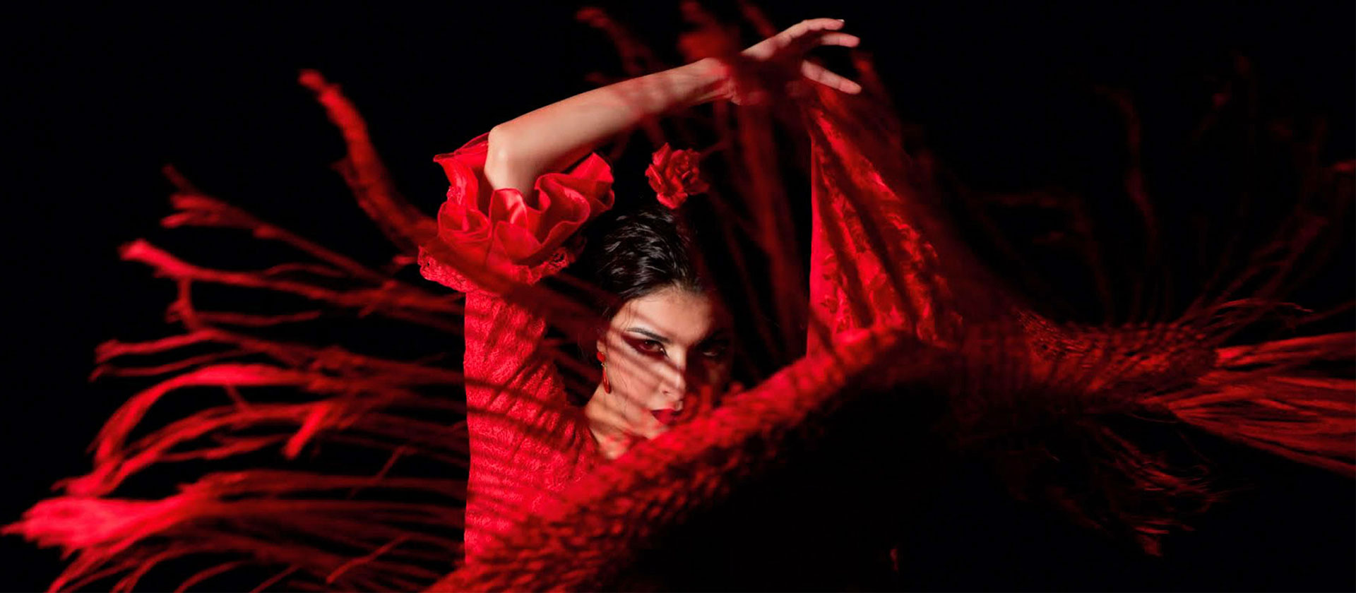 Tablao flamenco en Sevilla. La Cantaora