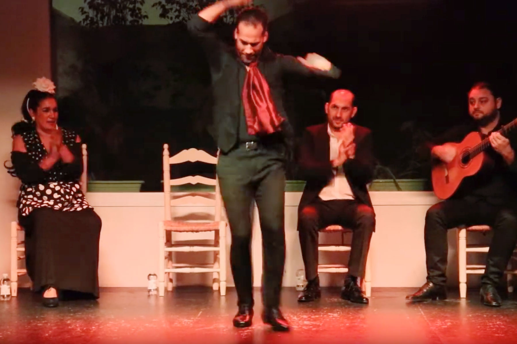 Video del Show flamenco en Tablao la Cantaora Sevilla